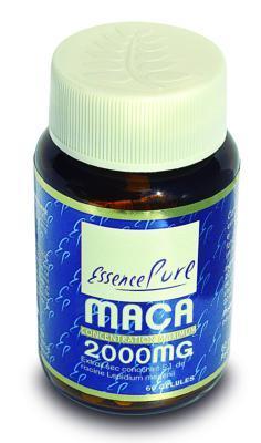 Maca 2000 mg extrait sec concentré 5:1 60 gélules