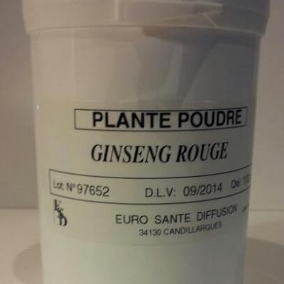Ginseng rouge en poudre 100 g