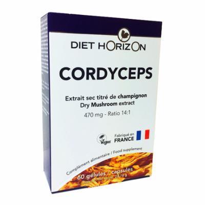 Cordyceps  60 gélules en rupture de stock