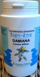 DAMIANA (turnera aphrodisiaca) 120 gélules