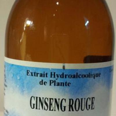 Ginseng rouge en extrait hydroalcoolique 125 ml