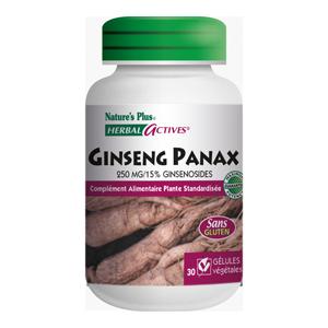 Ginseng panax concentré à 37,50 mg de ginsenoide 30 gél