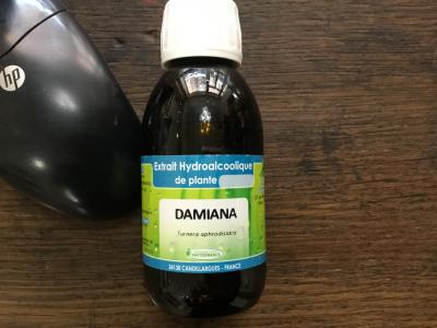 Damiana liquide 125 ml