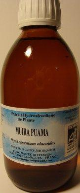 Muirapuama biologique  en extrait liquide 125 ml